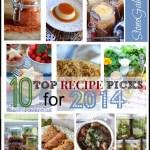 STONEGABLE'S 10 TOP RECIPE PICKS FOR 2013