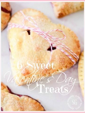 6 SWEET VALENTINE'S DAY TREATS