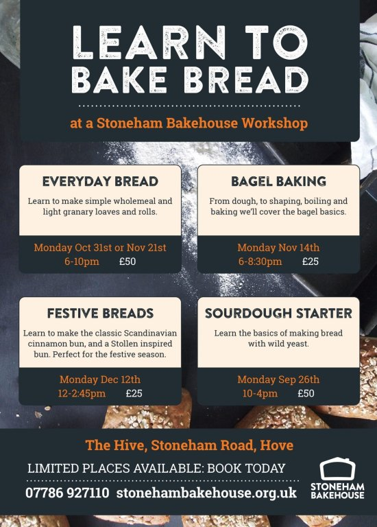 learn to bake bread autumn 2016