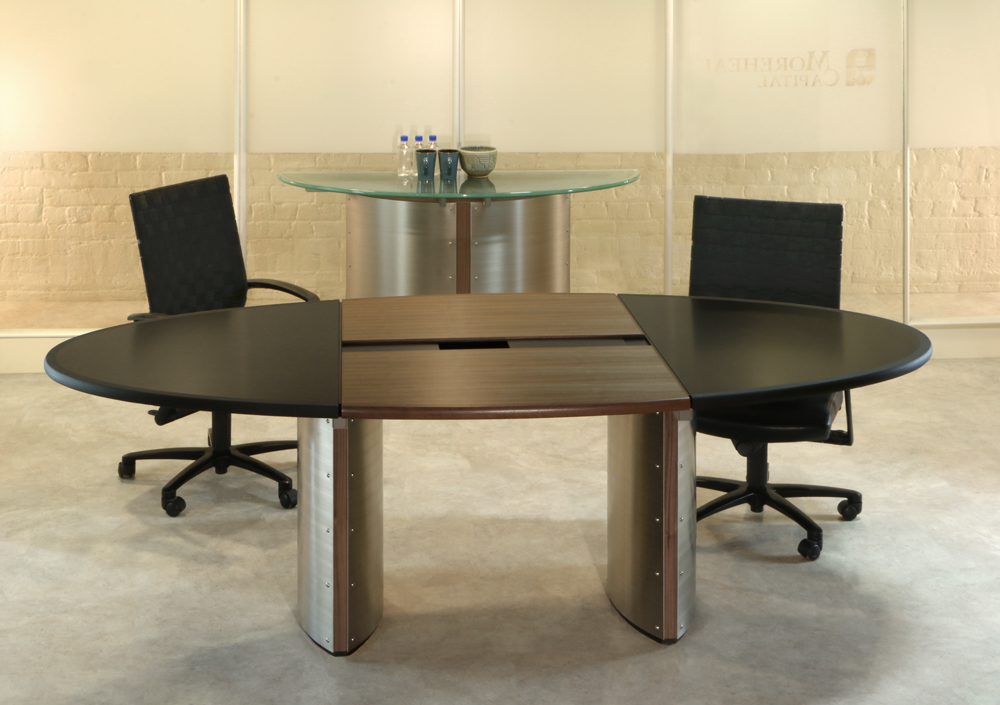 Custom Oval Conference Table Stoneline Designs