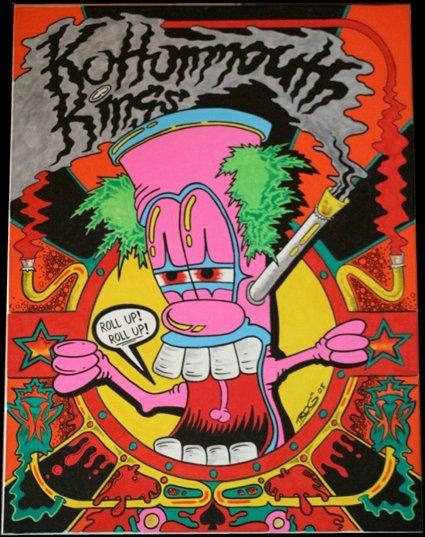 Rasta Girl Wallpaper Trog S Marijuana Art Stoner Art