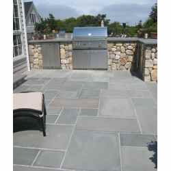 Small Crop Of Blue Stone Pavers