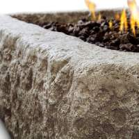 Antique Stone Fire Pit | Propane Powered | Cape Cod