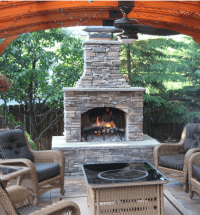 Outdoor Fireplace Kits Pictures to Pin on Pinterest ...