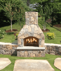Small Outdoor Fireplace Kits Pictures to Pin on Pinterest ...