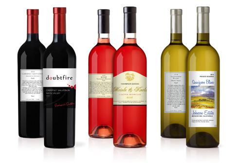 Personalized and Custom Wine Labels - Stoney Creek Wine Press - wine label