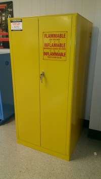 New & Used Liquid Flammable Fire Safety Cabinets