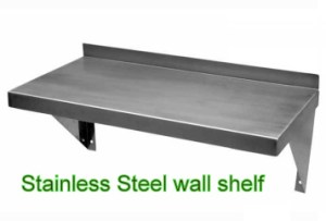 Stainless Steel Wall Shelf-14 x 72_large