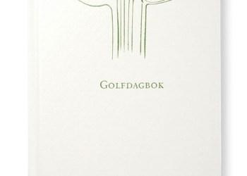Golfdagboken (vit)