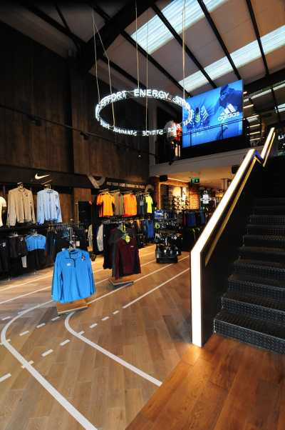 Lifestyle Sports Galway - Store Design
