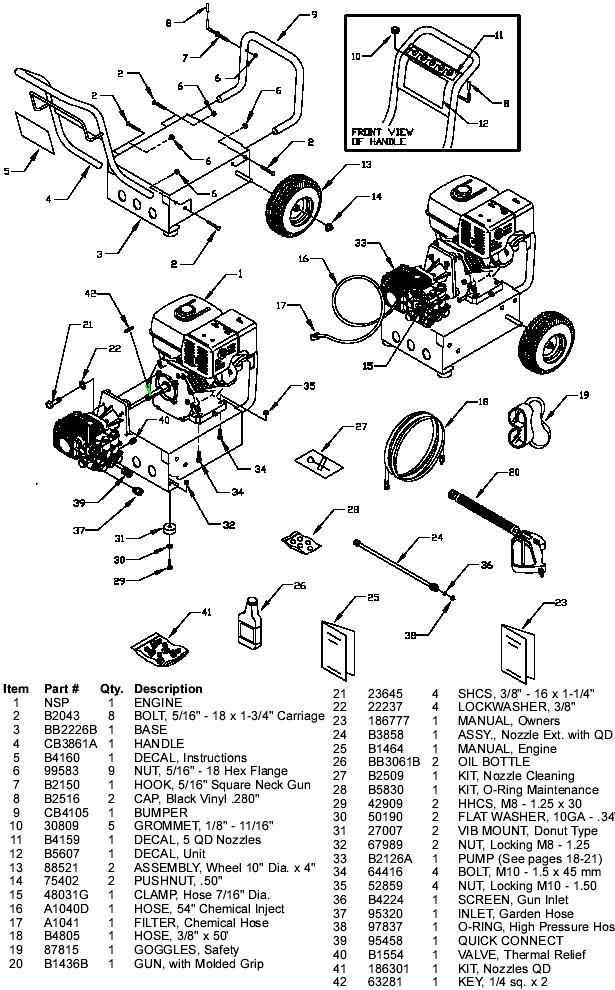 generac engine parts manual