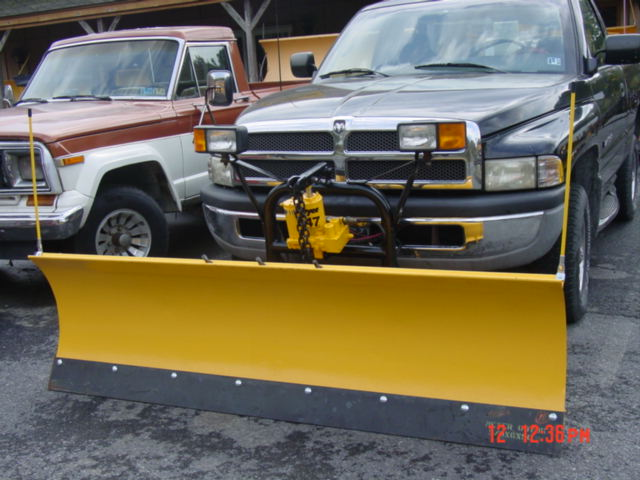 Plow # 2581 Installed today on 1997 Dodge Ram 1500 / Service Manual