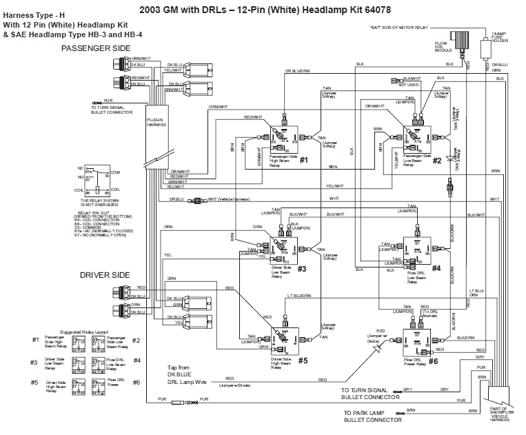 chevy western plow wiring diagram rev 9