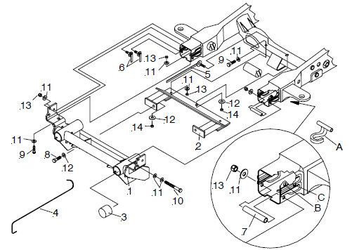1966 chevy truck frame diagram