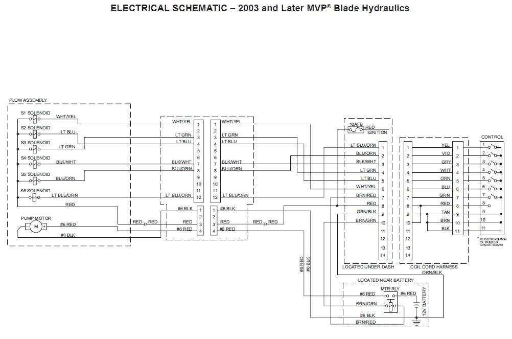 western 12 pin wiring diagram