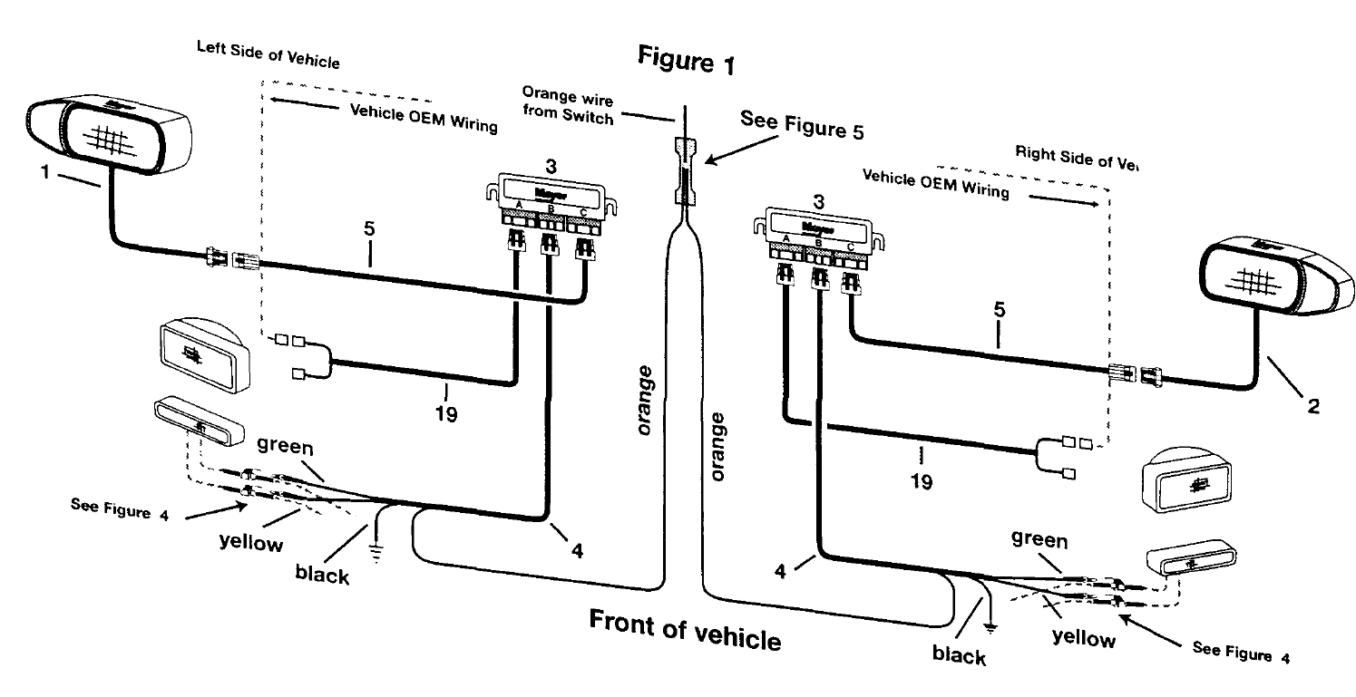 meyer snow plow light wiring diagram also curtis snow plow wiring