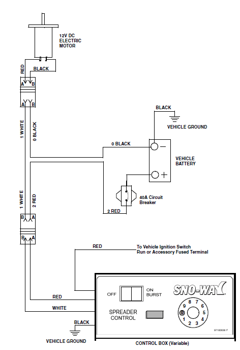 western spreader wiring diagram