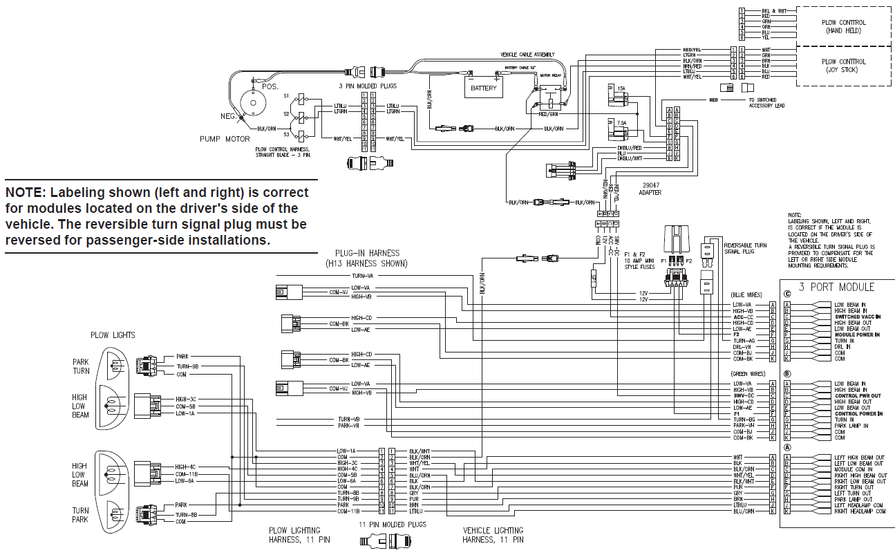 k2 snow plow wiring diagram