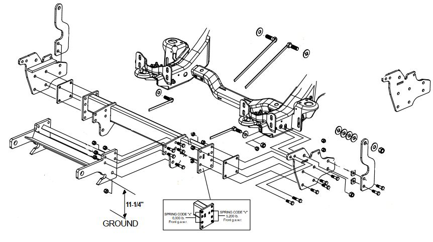 fisher dodge headlight harness diagram