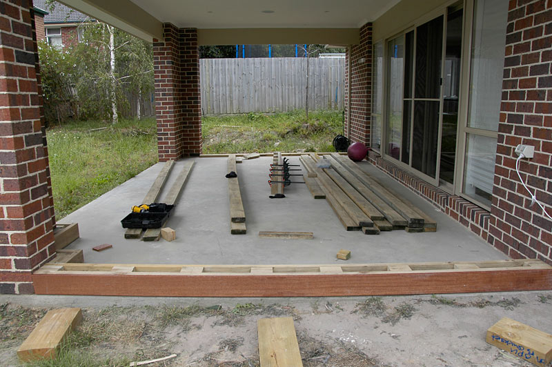 View Topic Can U Deck Over Existing Concrete Slab