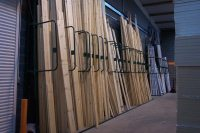 Vertical racking | Timber racks | pipe racks | conduit racks