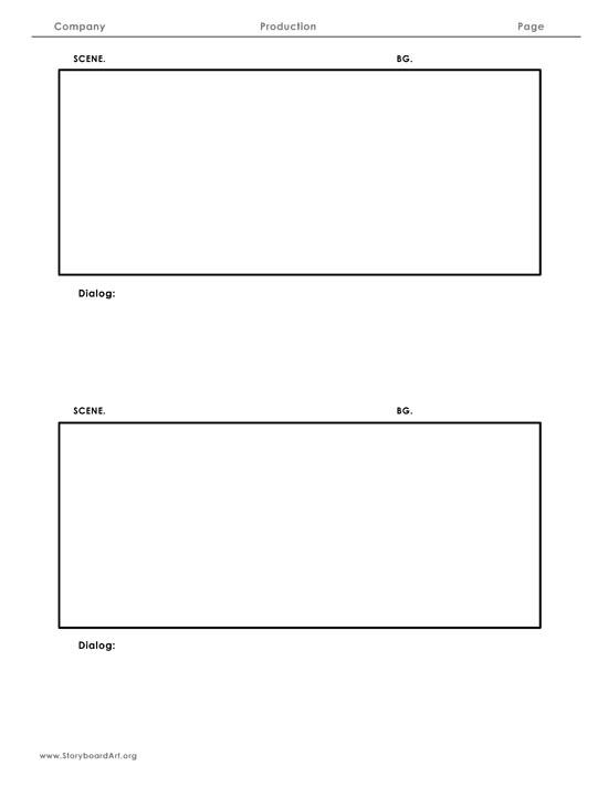 RESOURCES « Storyboard Art - vertical storyboard