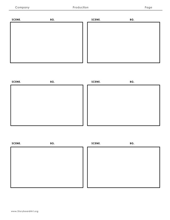 Storyboard Sample Sample Storyboards Storyboards Sell Your Tv