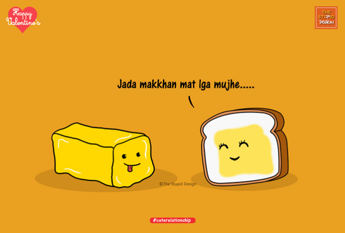 8th poster butter with bread
