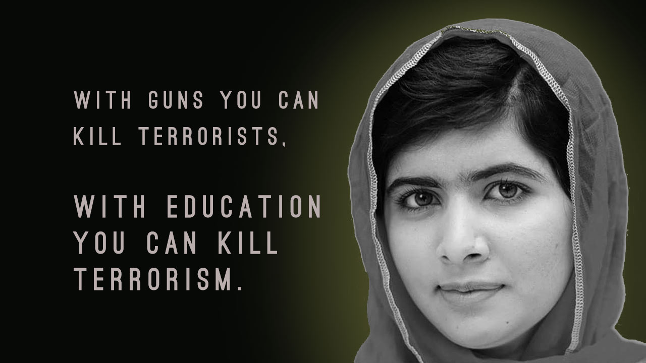 Steve Jobs Motivational Quotes Wallpaper 12 Quotes By Malala Yousafzai To Help You Rise Above Fears