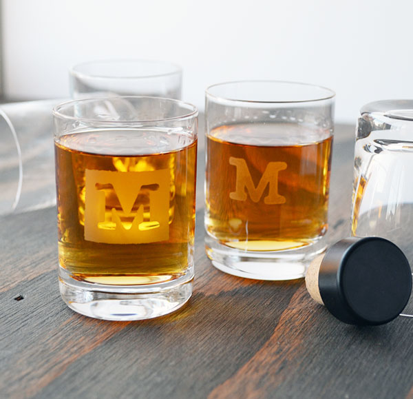 Personalized Shot Glasses Storypiece