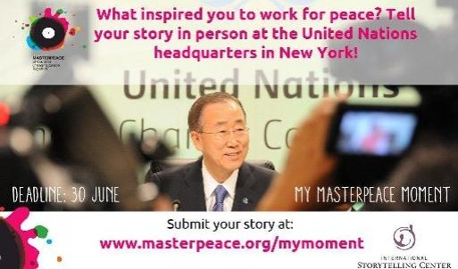 My MasterPeace Moment Storytelling Competition - International