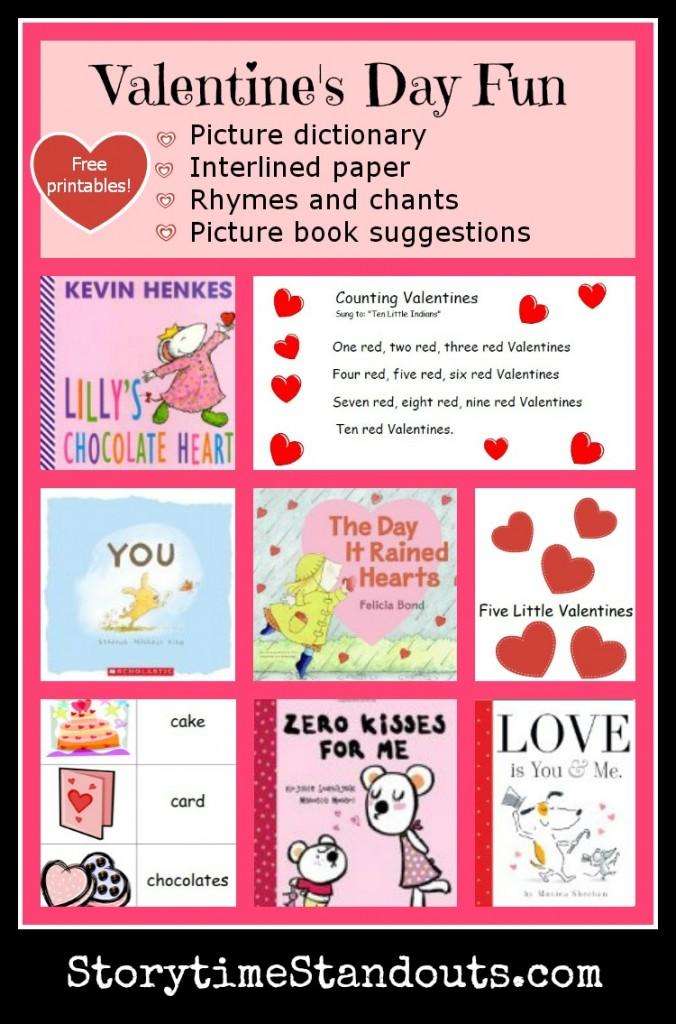 Valentine\u0027s Day Printables for Preschool, Homeschool and Kindergarten
