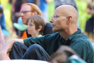 Jenni's story audience Living Earth Festival
