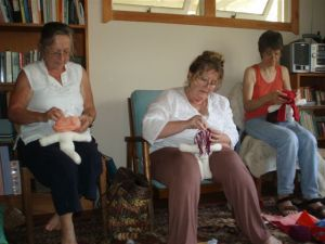 Rosemary,Marie, Suze sewing,smll