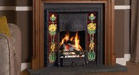 Art Nouveau Tiled Fireplaces - Stovax Traditional Fireplaces