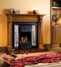 Glazed Hearth Tiles - Stovax Classic Fireplace Tiles