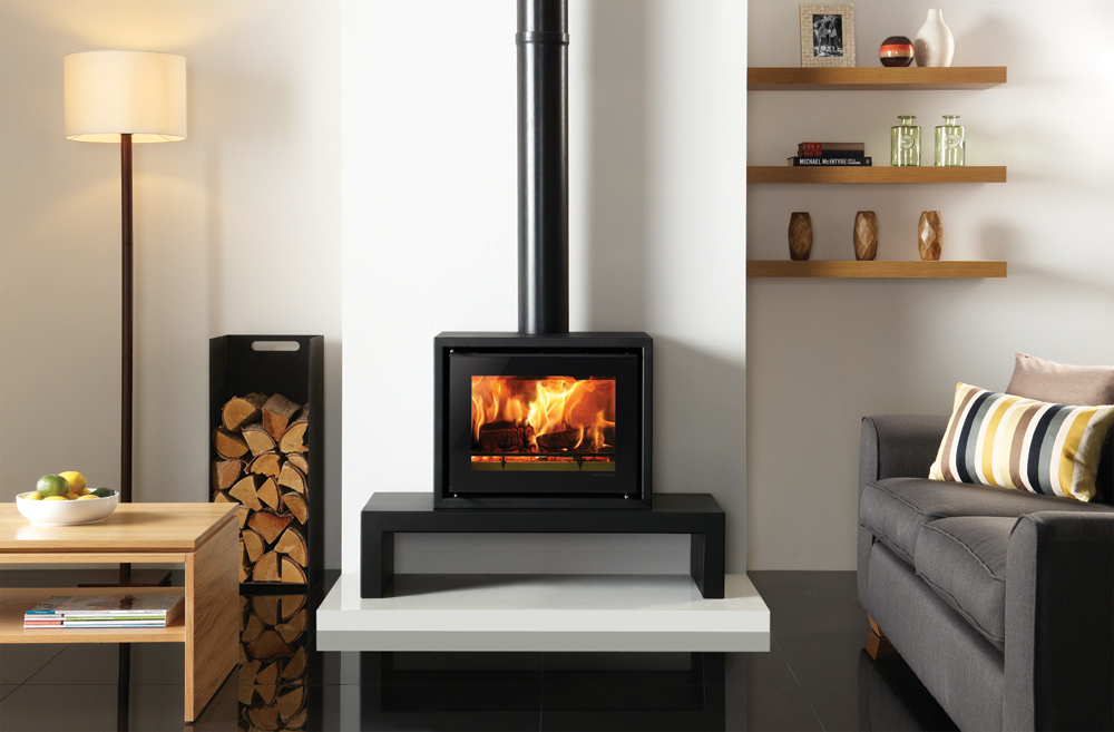 Studio 500 Freestanding Wood Burning Stove Stovax Stoves