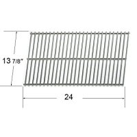 Char-Broil, Kenmore and Thermos Replacement stainless steel Rectangle Cooking Grid