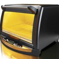 Black & Decker FC150BR InfraWave Speed-Cooking Countertop Oven, Black