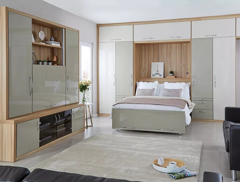 Space Saving Fitted Wall Bed Pull Down Fold Away Beds