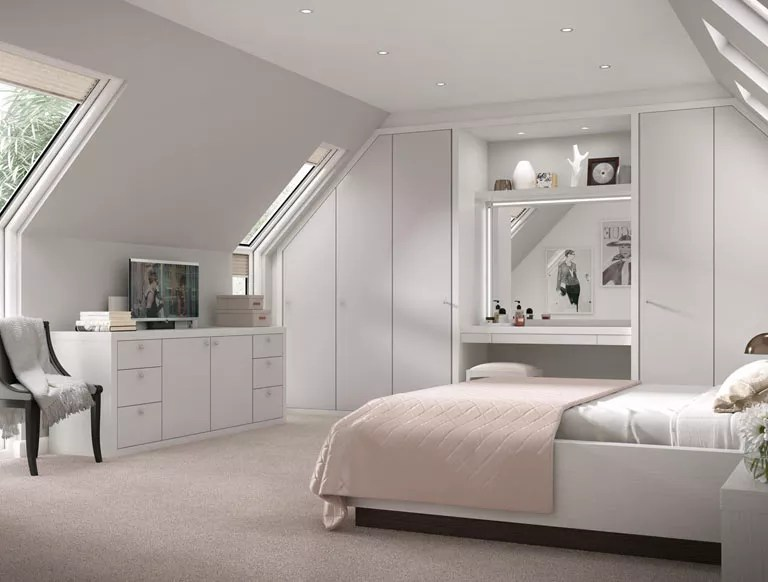 Luxury Fitted Bedroom Furniture Built In Wardrobes