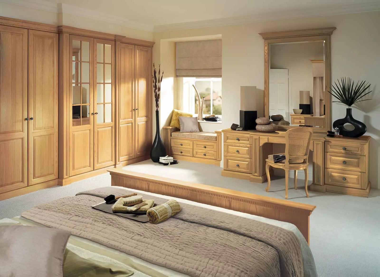 Traditional Fitted Bedroom Furniture By Strachan Furniture