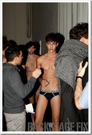 Francisco @ Frankie Morello - Milan Homme Fashion Weel