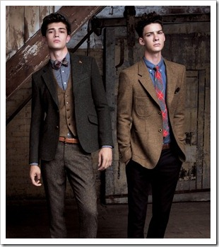 Francisco Lachowski and Mateus Lages.  T.I for Men FW11