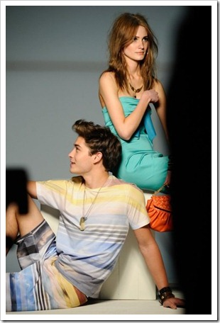Francisco Lachowski at the Triton 2012 summer campaign shoot 2