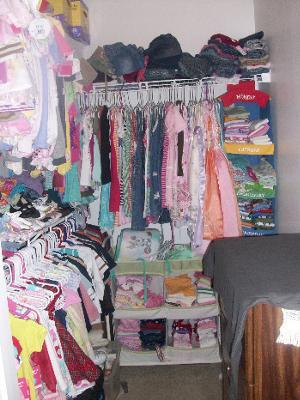 Organizing My Kids Closet!