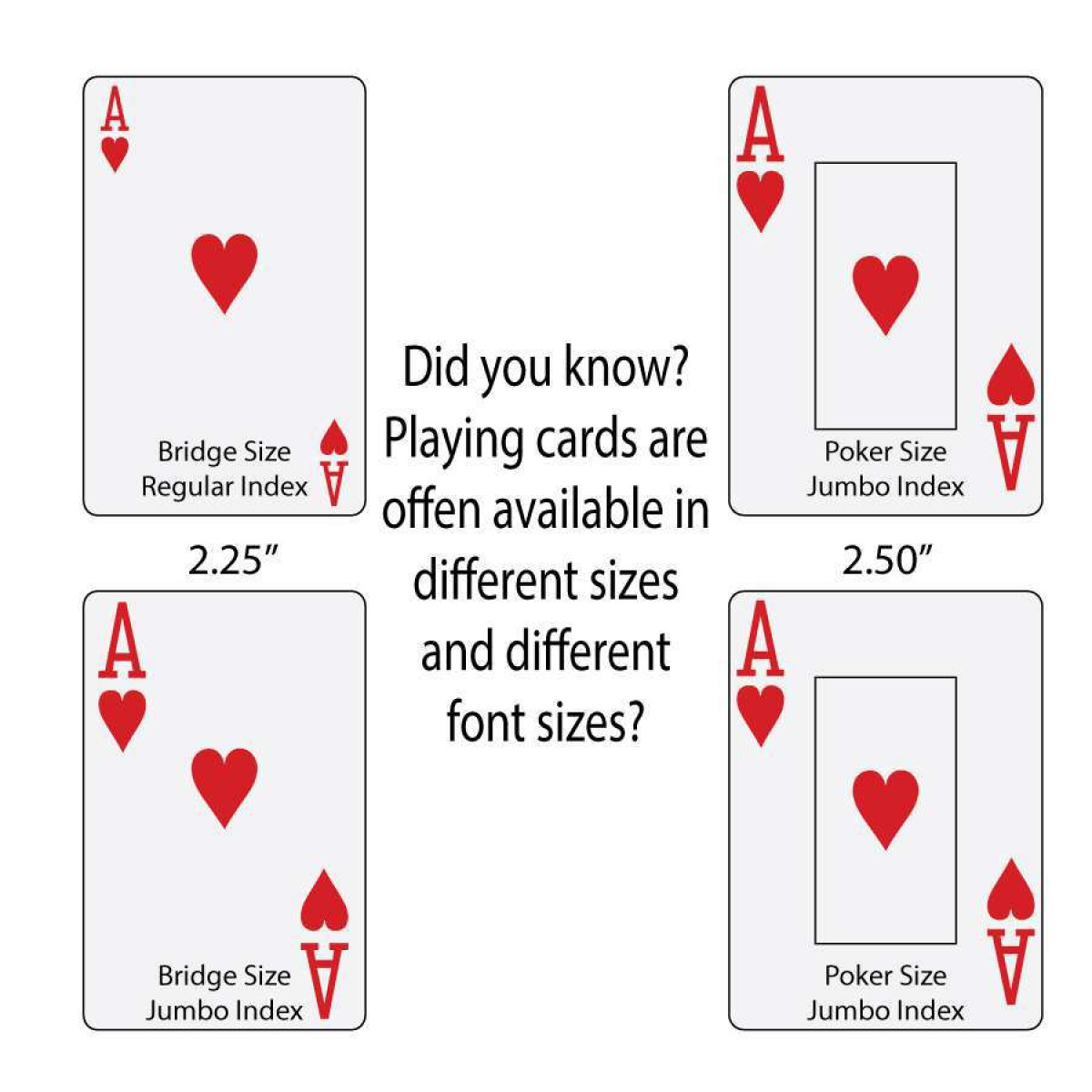 Fullsize Of Playing Card Dimensions