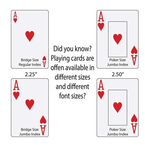 Medium Crop Of Playing Card Dimensions