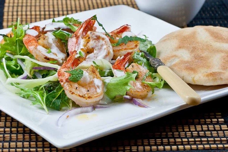 Middle Eastern Prawn Salad  1024