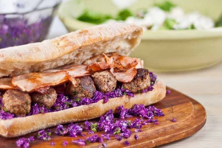 Meatball Sandwiches - Jamie Oliver